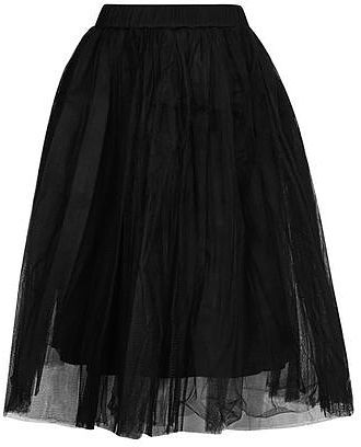 Womens black layered tutu midi skirt by rare from Topshop - £39 at ClothingByColour.com