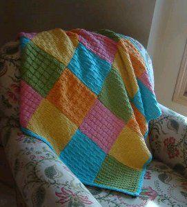 Dream Catcher Baby Blanket | AllFreeKnitting.com