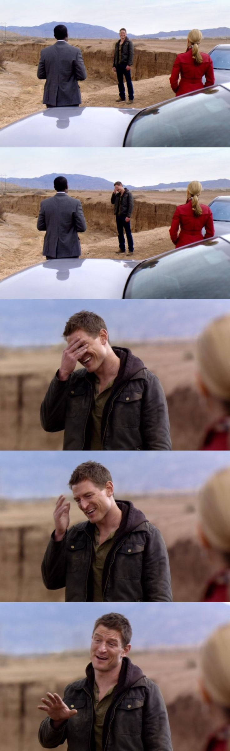 """""""Let me get this straight; you want me to what?!"""" Philip Winchester, The Player pilot"""