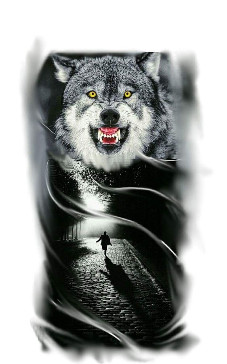 Tattoo Wolf tatuagem de lobo