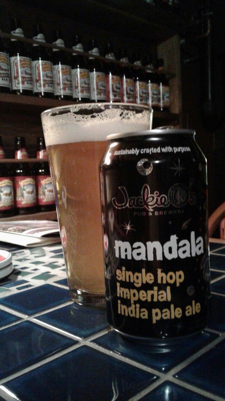 Mandala Single Hop Imperial IPA, Jackie O's Pub & Brewery, Athens, Ohio