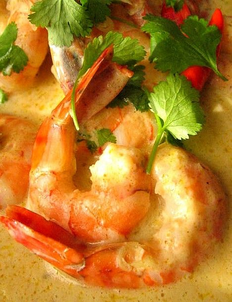 Les crevettes furieusement thaïlandaises
