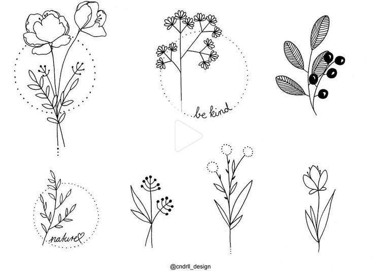Minimalist Flower Tattoos In 2020 Vintage Flower Tattoo Flower Tattoo Shoulder Flower Tattoo Sleeve