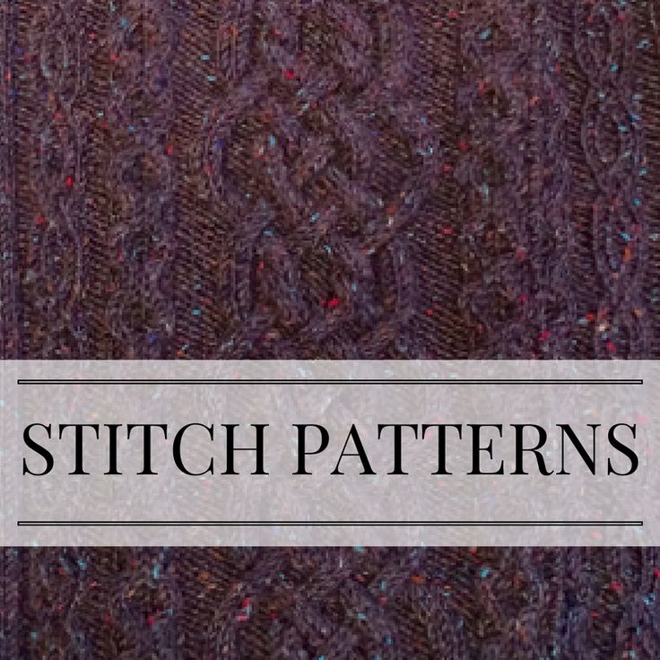 I love creating knit designs with the help of good stitch patterns (and sometimes inventing my own stitch patterns!). Follow along as I design on my blog (PattyLyons.com/blog)!