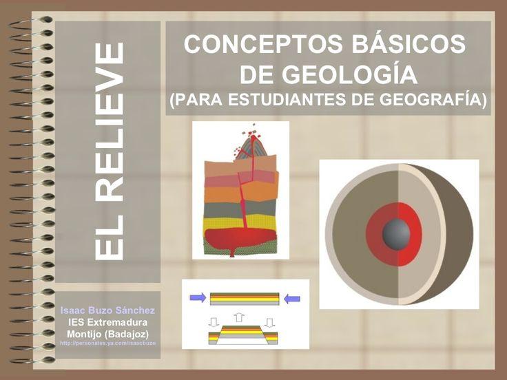 conceptos-geologia by Isaac Buzo via Slideshare