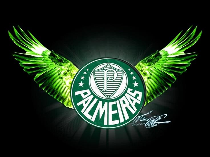 wallpaper emblema Palmeiras, backgrounds emblema Palmeiras