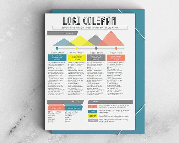 340 best DESIGN - CV and Resume images on Pinterest | Cv design ...