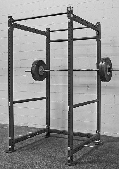 R4 Power Rack from Rogue Fitness - The hands down best power rack for the money for any garage gym or box.