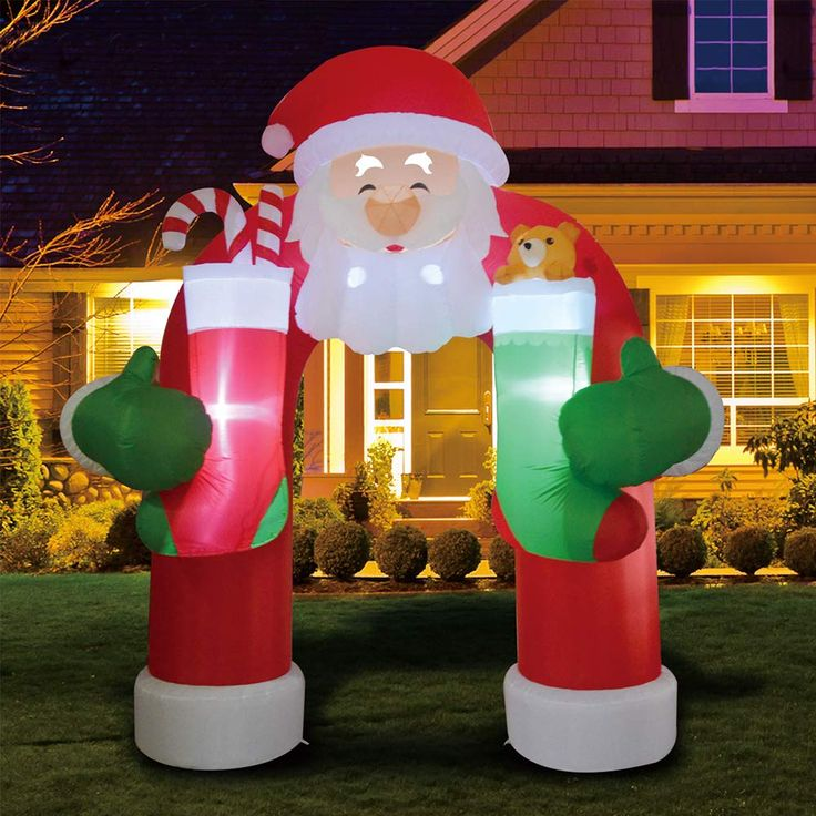11 Foot Christmas Inflatables Santa Archway in 2020