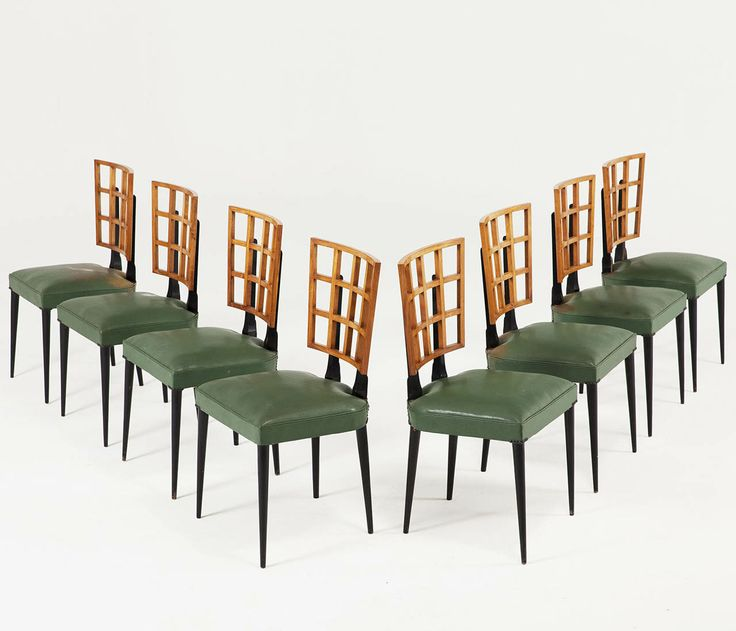 Highly Rare U0027Bossa Novau0027 Chairs, Brazil 1950u0027s, (part Of Complete Suite