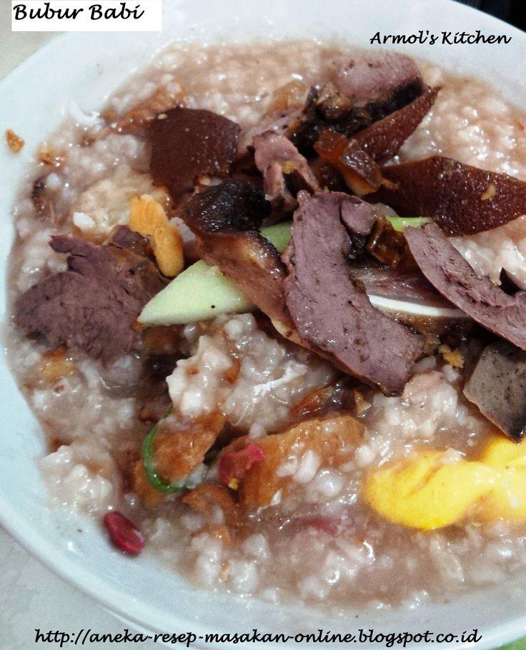 BUBUR BABI  Yuk simak resepnya…http://aneka-resep-masakan-online.blogspot.com/2015/05/resep-bubur-babi.html