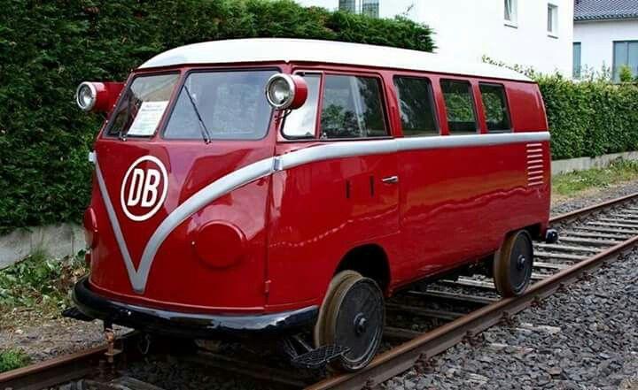 VW Rail bus