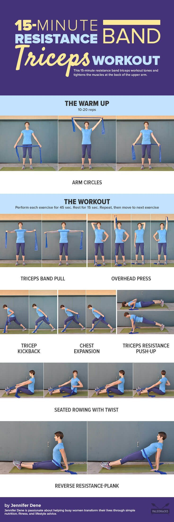Tighten up those arms with this fast, 15-minute workout!