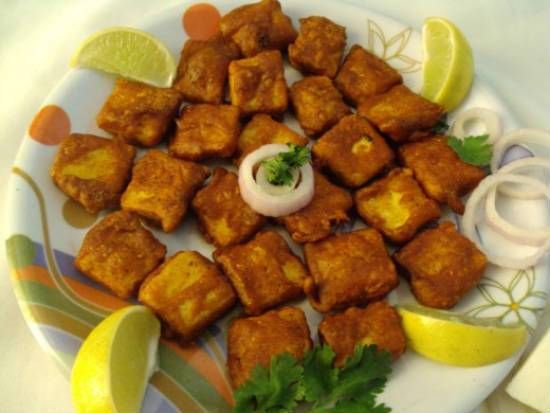 Ginger Garlic Paneer A delicious and easy to make evening/teatime snack.