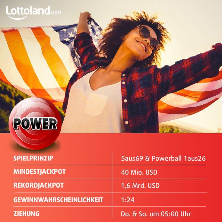 PowerBall - der Lotto-Weltrekordhalter! #PowerBall #Jackpot #AmericanDream #Lottery #Lotto #Record