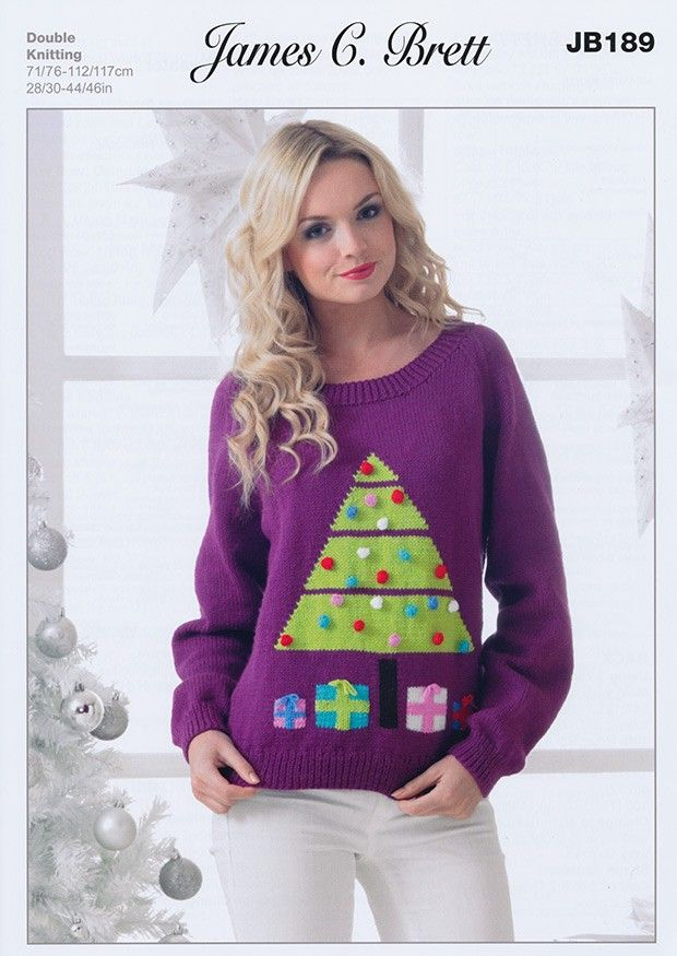Sweater In James C Brett Top Value DK (JB189) | Deramores