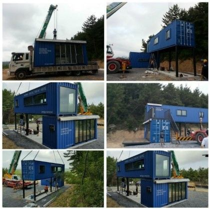 Ext house pinterest best house container buildings - Lot ek container home kit ...