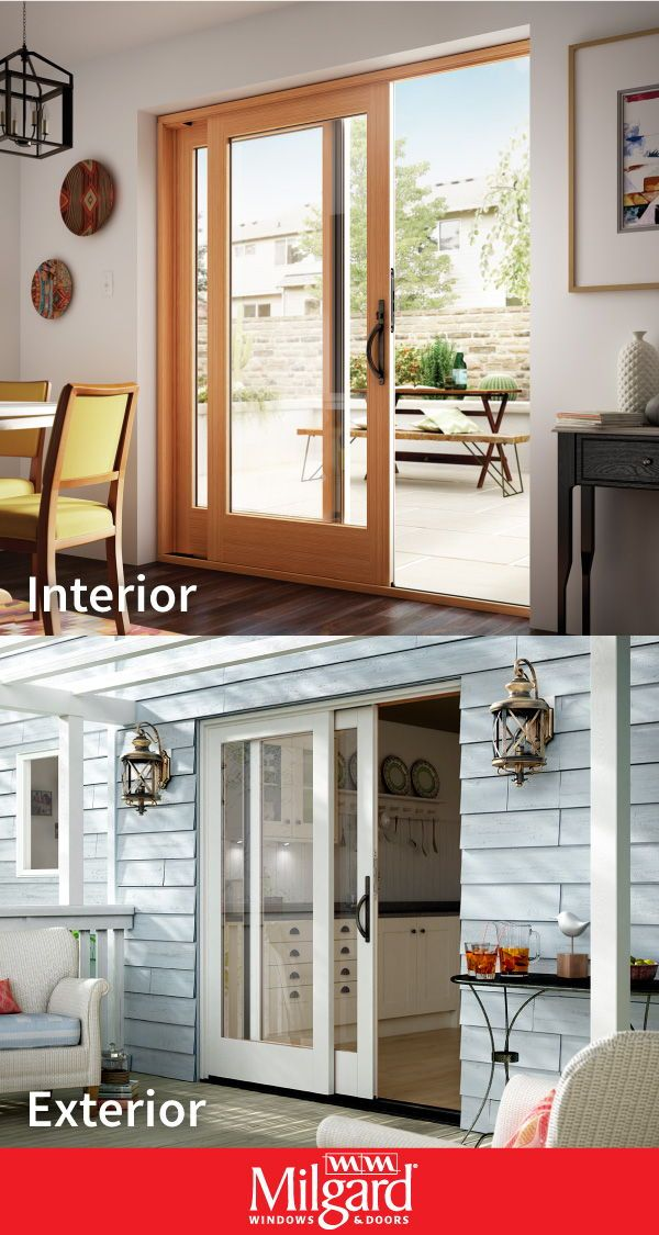 This Beautiful 2 Panel French Sliding Patio Door Can Help Elevate The Decor Of Any Dining Ro Sliding French Doors Patio Kitchen Patio Doors Sliding Patio Doors