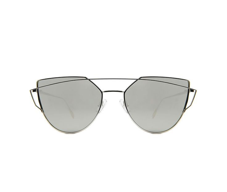 Love Punch Sunglasses – Silver - The Cool Hunter