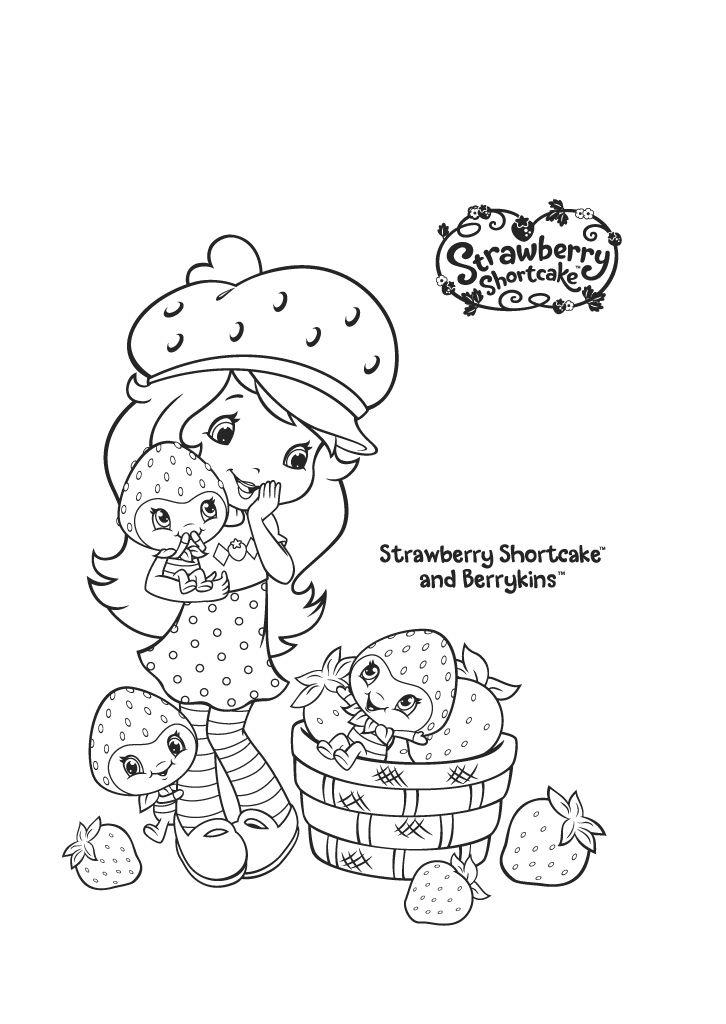 Mejores 234 imágenes de Strawberry Shortcake en Pinterest ...
