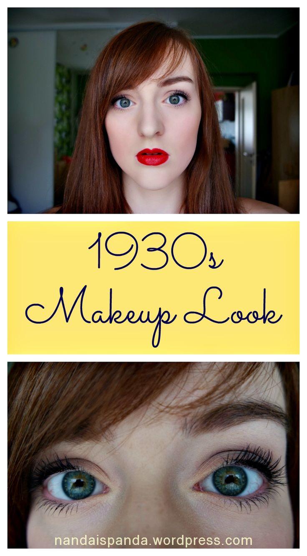 1930s, 30s, 1930, makeup look, makeup idea, makeup tutorial, makeup, cosmetics, affordable, budget, drugstore, inspired, inspiration, themed, retro, beauty