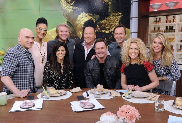 Little Big Town	on 'The Chew.' Styling by Kemal & Karla.