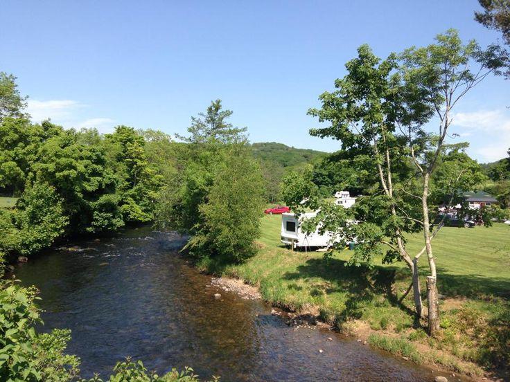 Camping The Old Post Office Santon Bridge near Eskdale, Cumbria & The Lake District