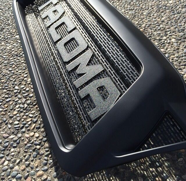 BPFABRICATING.COM // FLAT BLACK \\ Toyota Tacoma raptor style grill