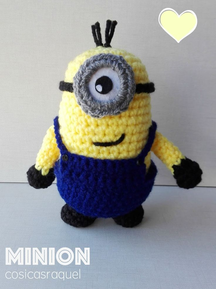 Free Crochet Pattern For Minion Toy : 17 Best images about Amigurumis on Pinterest Amigurumi ...