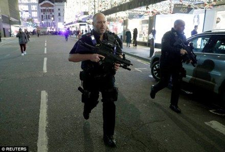 London police responding to incident at Oxford Circus Tube Station