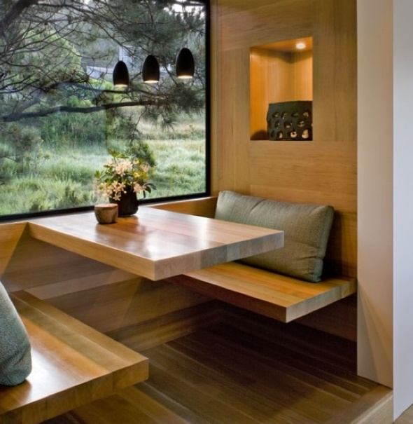12 best images about kitchen booth on pinterest - Kitchen table booth seating ...
