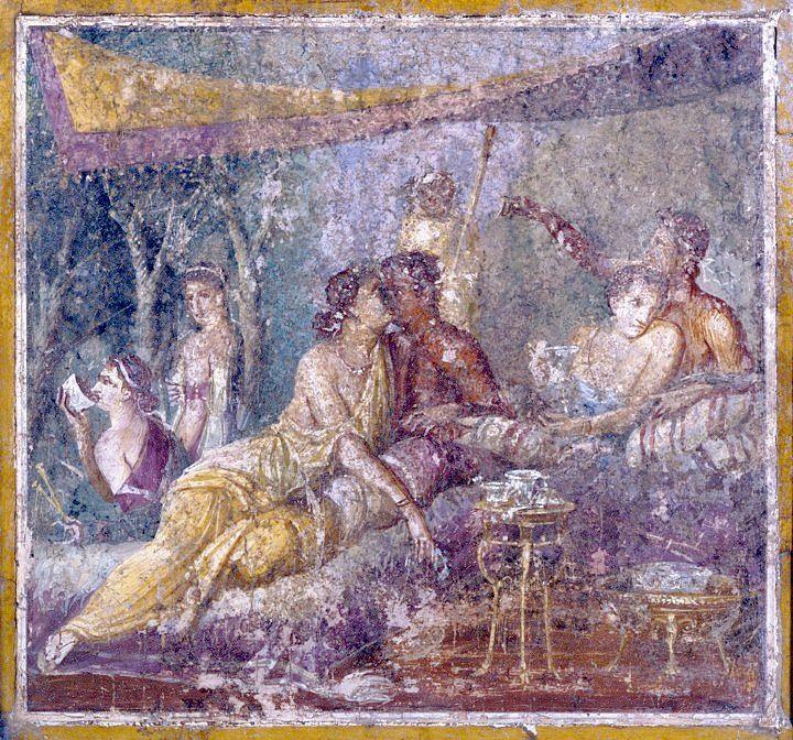 Порно фрески геркуланума