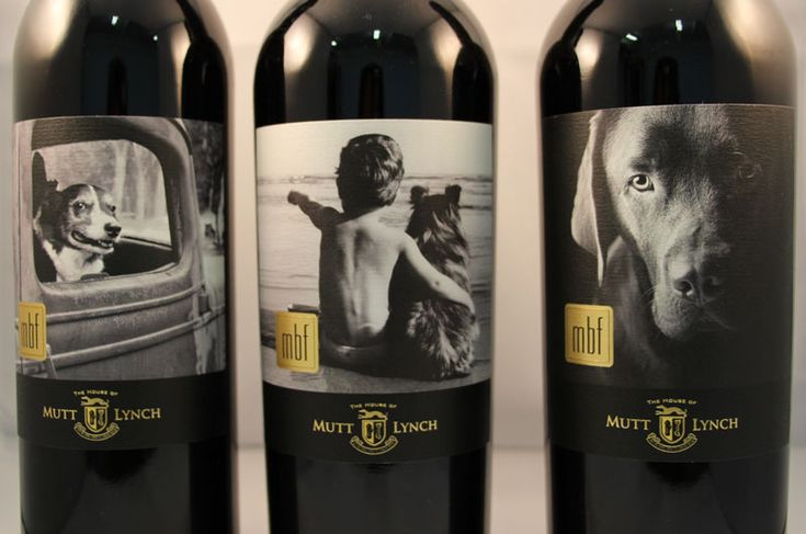 Mutt Lynch Winery - awesome wines and adorable doggy labels!