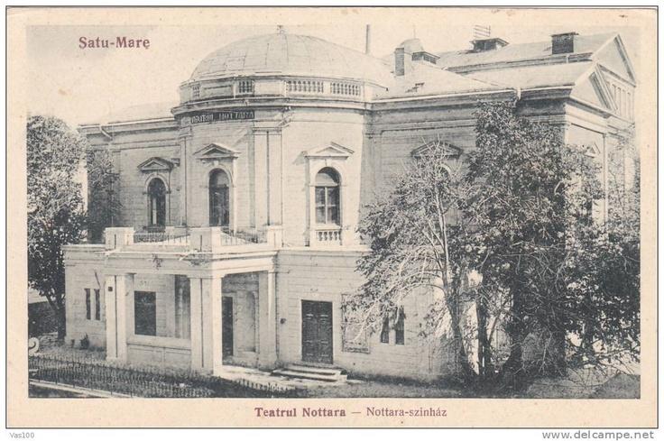 Satu Mare - Teatrul Notarra - interbelica