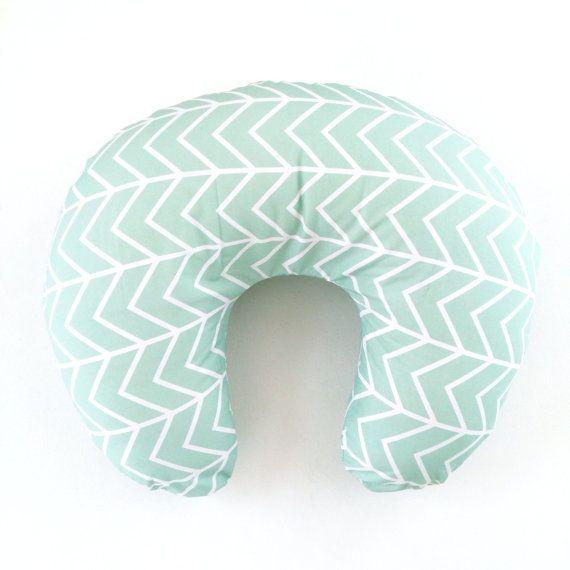 Hey, I found this really awesome Etsy listing at https://www.etsy.com/listing/214660149/boppy-cover-mint-chevron-boppy-nursing