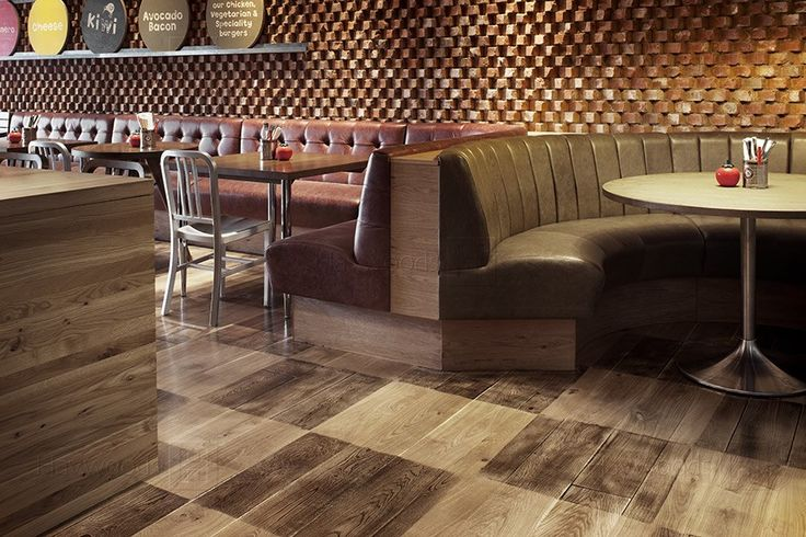 Gourmet Burger Kitchen, Lakeside, Venture Plank Wood Flooring
