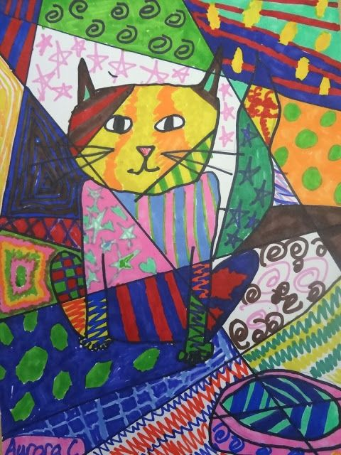 Brazil - Romero Britto kids art lesson, romero britto lesson for 3rd grade