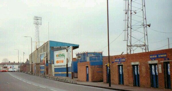 Plough Lane, Wimbledon in the 1980s.
