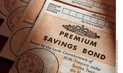 Alderman Sir Cuthbert Ackroyd Lord Mayor of London bought the first Premium Bond on 1st November 1956