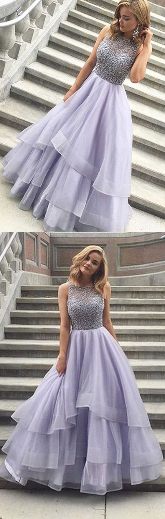 Lavender prom dress, charming prom dress, inexpensive prom dress ball gown, evening dress, popular online prom dress, long prom dresses, 15431