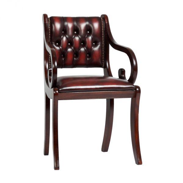 Chesterfield Regency Carver Chair