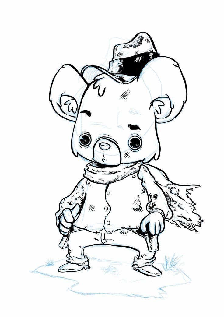 Bear Eastwood by Sergio Junior