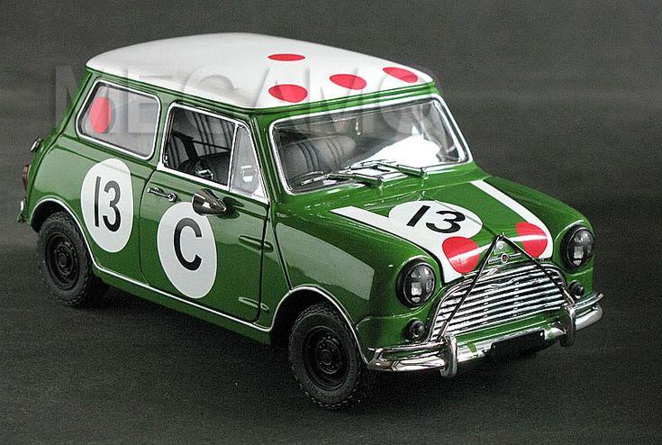 1/18 Kyosho Morris Mini Cooper S 1966 Bathurst Winner #13 - Коллекционные модели, масштабные модели, радиоуправляемые модели автомобилей купить. Интернет магазин Megamo.ru