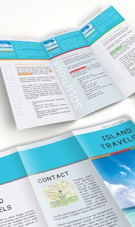 Best Free Brochure Templates Images On Pinterest Brochure - Simple tri fold brochure template