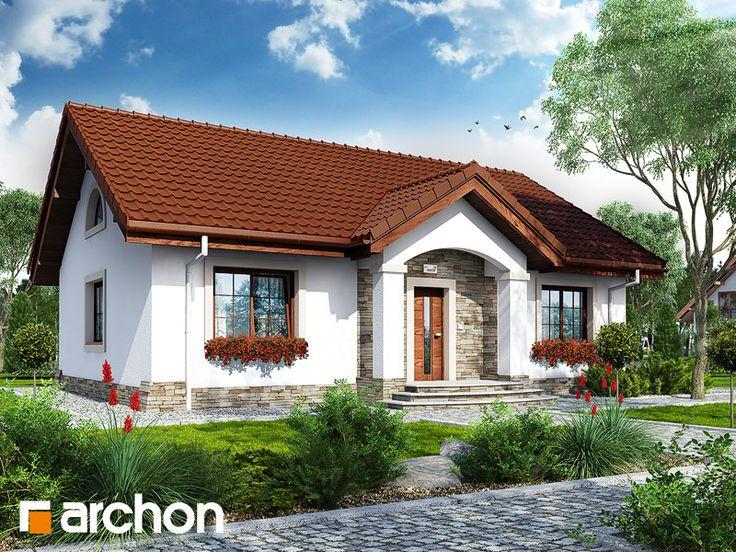projekt Dom w gazaniach widok 1