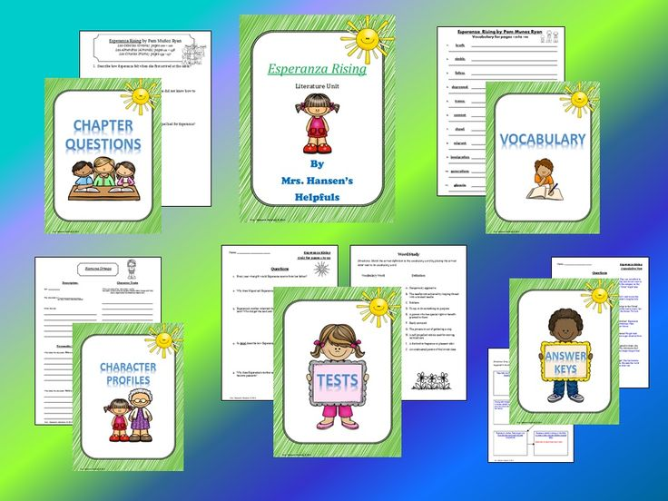 35 best esperanza rising images on pinterest esperanza rising complete esperanza rising literature unit complete with questions vocabulary character profiles assessments ccuart Gallery