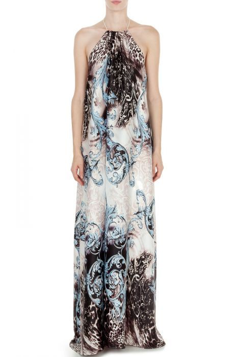 #despinavandicollection Maxi open back dress
