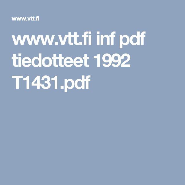 www.vtt.fi inf pdf tiedotteet 1992 T1431.pdf