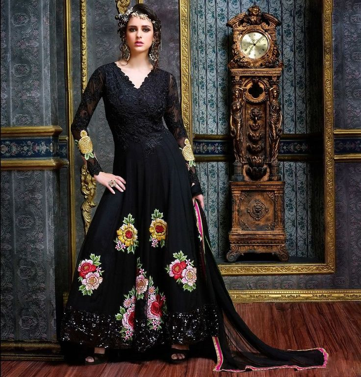 UK Designer Anarkali Salwar Kameez Suit Traditional Pakistani Indian Bollywood #SalwarKameez