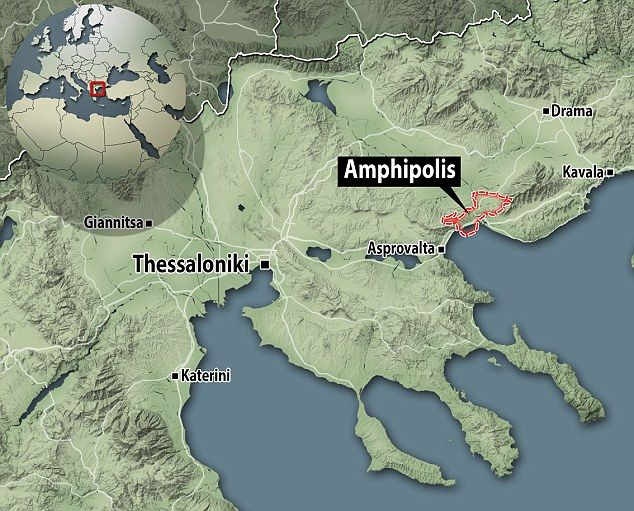 Amphipolis #Macedonia northern Greece - Ancient Amphipolis archaeological site